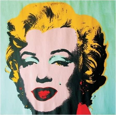 Serigrafía artística original creada por Andy Warhol (serie de serigrafías dedicadas a Marilyn Monroe)