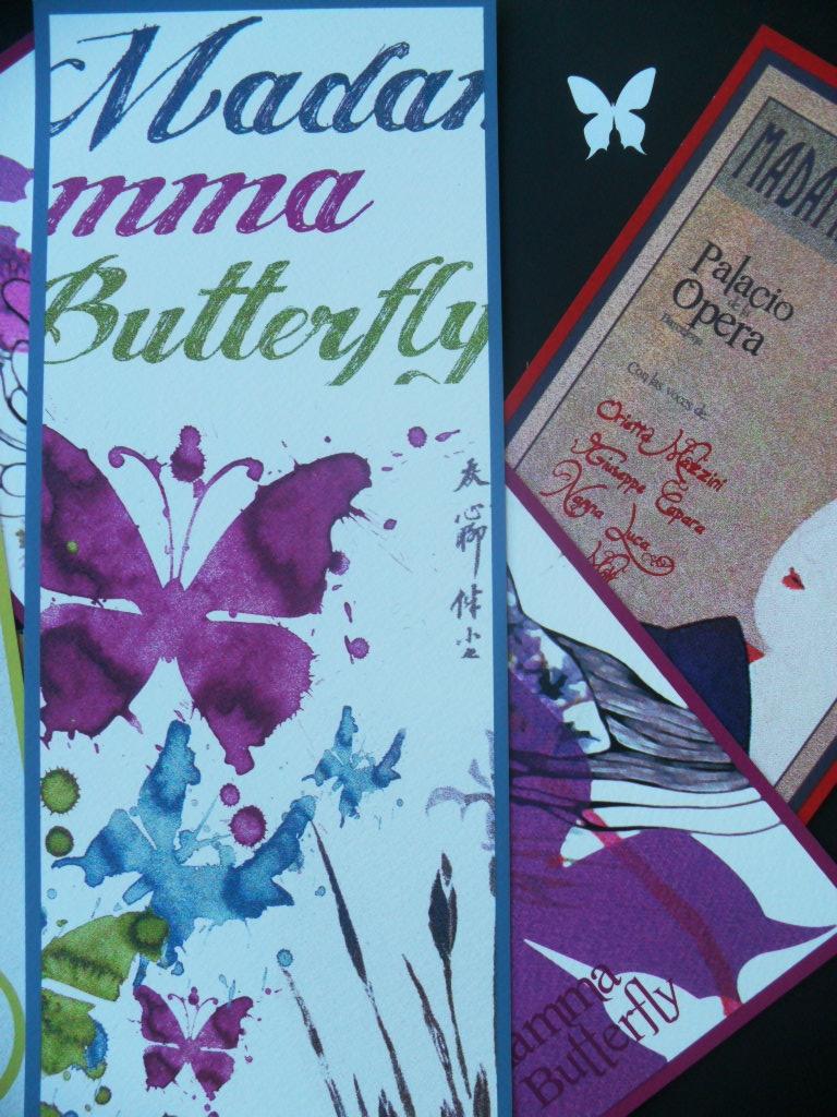 """Ficha """"Estocástica"""" del catálogo de arte de Art Plus Serigrafía basado en la ópera Madamma Butterfly"""