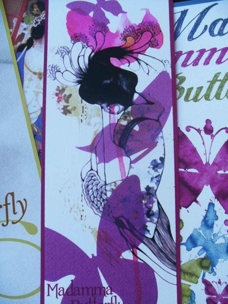 Ficha obra gráfica realizada en serigrafía para el catálogo arte de Art Plus Serigrafía inspirada en la ópera Madamma Butterfly de Giacomo Puccini