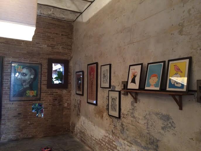 Serigrafías de 180Hilos expuestas en L'Endoll