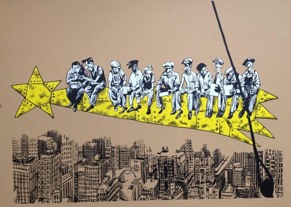 Felicitación de Navidad para Art Plus Serigrafía Barcelona de Idígoras y Pachi